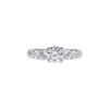 0.71 ct. Round Cut 3 Stone Ring, I, SI1 #3