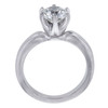 1.22 ct. Round Cut Solitaire Ring, H, SI1 #3