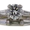 .96 ct. Round Cut Bridal Set Ring #1
