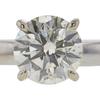 1.09 ct. Round Cut Bridal Set Ring, M, SI2 #4