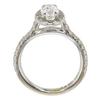 0.9 ct. Oval Cut Bridal Set Ring, G, VS1 #4
