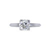 1.36 ct. Old European Cut Solitaire Ring, L, VS2 #3