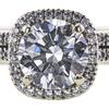 1.50 ct. Round Cut Bridal Set Ring, G, VS2 #4