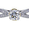 1.50 ct. Round Cut Solitaire Ring, I, SI1 #3
