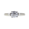 0.72 ct. Round Modified Brilliant Cut Solitaire Ring, G, SI1 #3