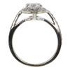 1.03 ct. Round Cut Halo Ring, H, VS2 #2