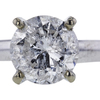 2.12 ct. Round Cut Solitaire Ring, H, I3 #4