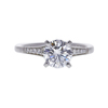 1.02 ct. Round Cut Solitaire Ring, F, VS1 #3