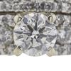 0.6 ct. Round Cut Bridal Set Ring, F-G, SI2 #1