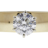 2.01 ct. Round Cut Solitaire Ring, H, I2 #4