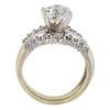 2.06 ct. Round Cut Bridal Set Ring, I-J, I1-I2 #3