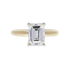 2.06 ct. Emerald Cut Solitaire Ring, G, SI1 #2