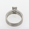 1.03 ct. Princess Cut Solitaire Ring #1