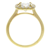 1.53 ct. Round Cut Halo Ring, J, VS2 #4