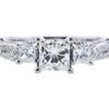 0.75 ct. Princess Cut Solitaire Ring, J, SI1 #4