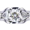 2.07 ct. Round Cut Bridal Set Ring, I, SI2 #3