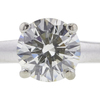 1.26 ct. Round Cut Solitaire Ring, J, SI1 #4