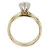 0.67 ct. Round Cut Bridal Set Ring, F, SI1 #4