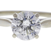 0.93 ct. Round Cut Solitaire Ring, J-K, I1 #1