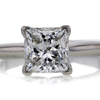 1.60 ct. Princess Cut Solitaire Ring #1