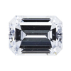 1.01 ct. Emerald Cut Halo Ring, E, VS1 #1