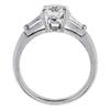 1.17 ct. Round Cut 3 Stone Tiffany & Co. Ring, H, VVS2 #2