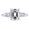 2.30 ct. Emerald Cut Solitaire Ring #3
