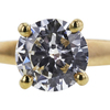 0.88 ct. Round Cut Solitaire Ring, I, VS1 #4