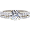 1.08 ct. Round Cut Solitaire Ring, K, VS2 #3
