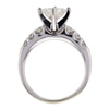 1.25 ct. Princess Cut Bridal Set Ring #2