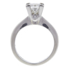 1.13 ct. Princess Cut Solitaire Ring, H, VS2 #3