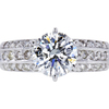 1.51 ct. Round Cut Solitaire Ring, I, VS2 #1