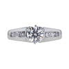 0.76 ct. Round Cut Solitaire Ring, H, VS1 #4