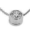 1.01 ct. Round Cut Pendant Necklace #3