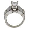 1.27 ct. Princess Cut Bridal Set Ring, H, SI1 #4