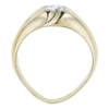 0.72 ct. Circular Brilliant Cut Bridal Set Ring, G, VS2 #3
