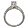 0.72 ct. Round Cut Solitaire Ring, G, VS1 #4