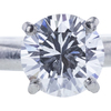 1.06 ct. Round Cut Solitaire Ring, D, SI1 #4