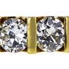 Antique Old European Cut 3 Stone (Uniform) Ring, I-J, VS1-VS2 #1
