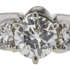 0.68 ct. Round Cut Bridal Set Ring, I, VS2 #4