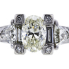 1.50 ct. Oval Cut Bridal Set Ring #2