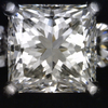 2.16 ct. Princess Cut 3 Stone Ring #4