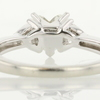 1.00 ct. Heart Cut 3 Stone Ring #4