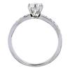 Art Deco GIA 0.49 ct. Round Cut Bridal Set Tiffany & Co. Ring, E, VVS2 #2