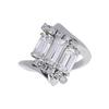Emerald Cut Ring, F-G, VS1-VS2 #2