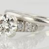 1.03 ct. European Cut Bridal Set Ring #1