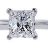 0.78 ct. Princess Cut Solitaire Tiffany & Co. Ring, E, VS1 #4
