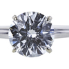 1.71 ct. Round Cut Solitaire Ring, H, VVS2 #2
