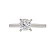 0.76 ct. Round Cut Solitaire Ring, G, VS2 #3