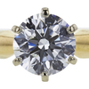 1.15 ct. Round Cut Solitaire Ring, H, VS1 #4